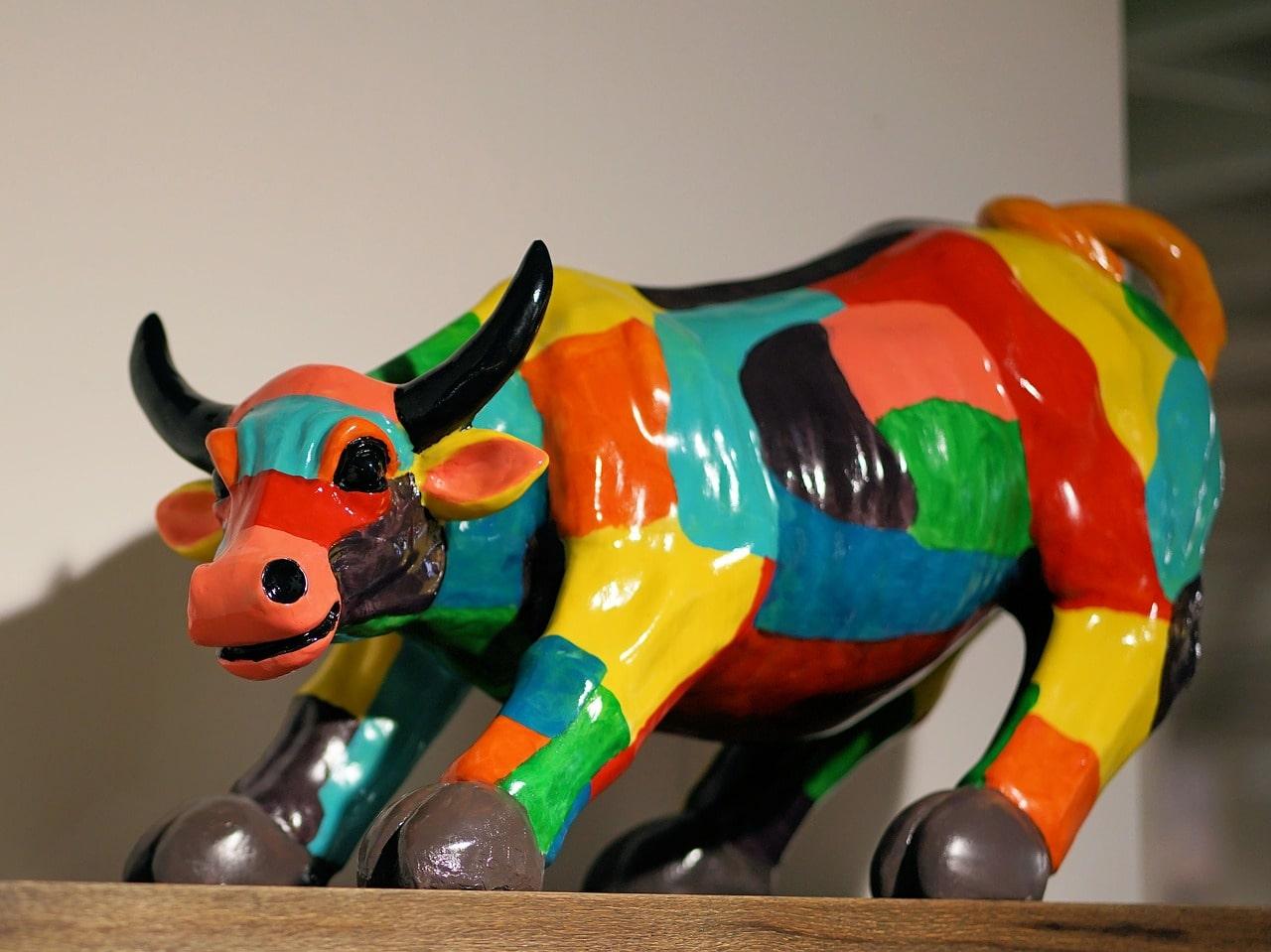 decoration original animaux resine