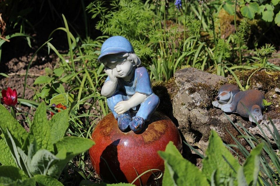 ornement de jardin