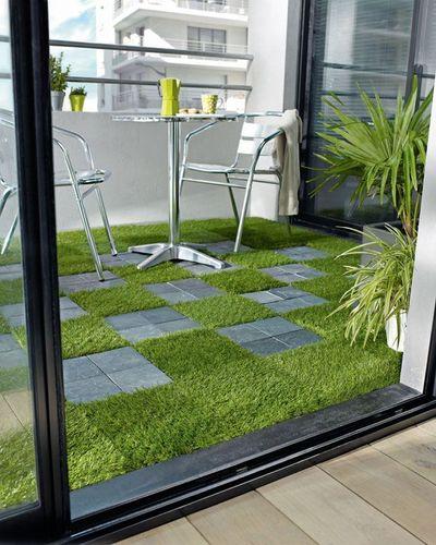 Reformez votre terrasse.  Étage de terrasse mixte