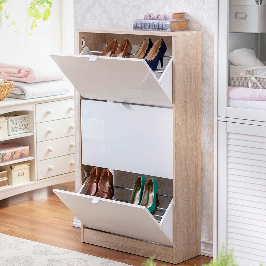 Une excellente option pour garder vos chaussures en ordre.